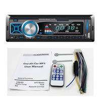 New Car  Radio Player  FM Transimitter MP3 Player Support USB/SD/AUX IN  Headunit Free Shipping