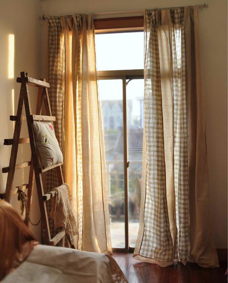 Encaje cortinas de la habitaci n compra lotes baratos de - Cortinas para la habitacion ...