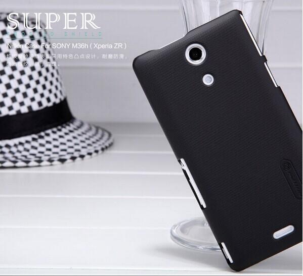 Чехол для для мобильных телефонов Unietek M36h NILLKIN Sony Xperia ZR + for Sony Xperia ZR защитная пленка для мобильных телефонов hd sony xperia zr m36h