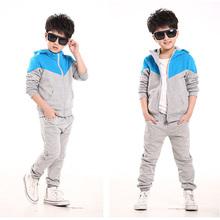 NEW Spring Autumn kids clothes sets jacet pants cotton boys Sport suit set long sleeve