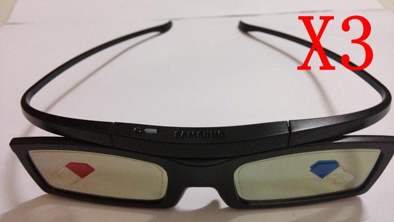 3X New óculos 3D SSG-5100GB para Samsung LED Plasma Smart TV(China (Mainland))