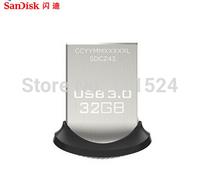 2014 New Arrival USB 3.0 Flash drive 100% Original Genuine Sandisk Cruzer Fit CZ43 64gb 32gb 16gb smart mini Usb Free shipping
