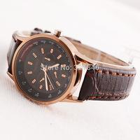 Thebez upscale fashion ladies quartz watch waterproof watch business PU leather watch T834