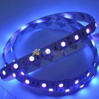 New 16.4ft DC12V 5M/Lot 5050 SMD 300 Leds Ultraviolet UV 395-405nm Non-Waterproof Flexible LED Strip Light Free Shipping!