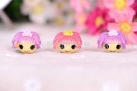 Free Shipping 20PCS/Lots Very Hot and Kawaii Resin Crown girl LALA monster cabochons FOY DIY 22*18mm