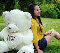 Wholesale-Hot sell Children Toys Beige Giant Big Plush Teddy Bear Soft Gift for Valentine Day Birthday