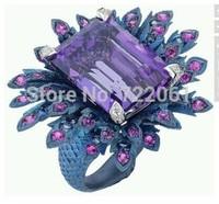 Se7en Pride  rings for women sapphire  sterling silver jewelry