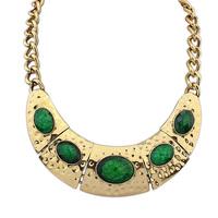 Fashion vintage necklace female  elegant gem necklace chain