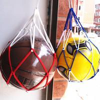 3pcs Ball carrying mesh net bag for basketball football volleyball