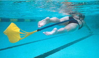 Swiming Speed Chute Swiming blance aid assist training