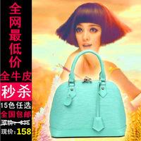 2014 New Fashion Vintage Europen  Bags Women Leather Brand Designer Phantom Messengers Candy Color Handbag