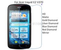 For Acer Liquid E2 V370 HD/Matte/Diamond Screen Protector Film Free Shipping