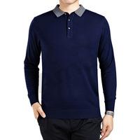 Amurleopard Mens Wool Cashmere Sweater Jumper Business men Pullover V-neck Knitwear for gentlemen 3Color