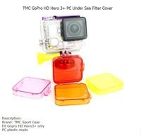TOZ PC Under Sea Filter Cover for Gopro Hero 3+ - Orange