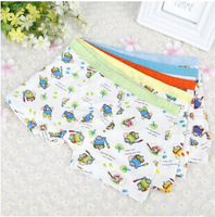 Wholesale  Boonie  Bears Modal Boys Underwear Cartoon Boxer Shorts For Kids 5 Pairs / lot