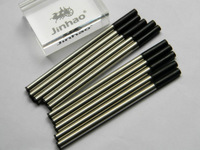 Lot Of 10 Jinhao Roller Ball Pen Refills 0.7mm Black Ink