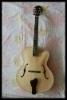 yunzhi 17 inchHandmade guitar solid wood jazz guitar