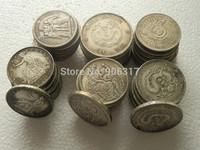 High quality Cupronickel coins Chinese Dragon Hu-Nan province   , 5pcs/lot