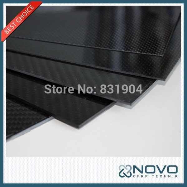 Free shipping 500mm x 400mm x 1.5mm smooth gloss finish carbon fiber Plate//sheet/board(China (Mainland))