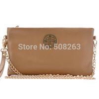 Genuine Leather 2014 Fashion Handbag Cowhide Women Shoulder Bags Day Clutch Evening Bag Clutches Brand Quality DC16