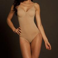 Fashion women's bodysuits single seamless spaghetti strap one piece ring plus size body shaper quality xxxl