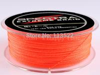 4 Strands Orange 8LB PE Dyneema Braided Fishing Line 300M 0.10mm 328 Yard Spectra 4 Braid fishing line