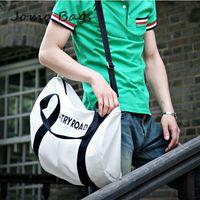 Hot sell 2014 men's and women's  letter Casual Canvas big Bag Women's Messenger Bags Handbag Free shippment factory price z2671