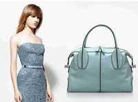 Hot-selling 2014 New Arrival Brand Designer Handbags Women Genuine Leather Lichee  Briefcase Totes Designer  Shoulder Bag Bolsas