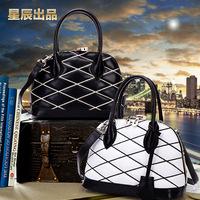 Hot 2014 New Fashion Brand Designer Handbags Women's Vintage Rivet Tassel Shoulder Bgas Quality genuine  Leather Bags