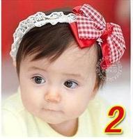 1PC flower Bow Baby Girls Headwear Headband children hair band accessories