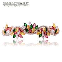 Neoglory Austria Rhinestone Zircon Hairwear Jewelry for Women Rose Gold Plated Fashion Jewelry Accessories 2014 New Party Gift