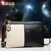 female small cross-body bag genuine leather women's handbag 2014 women's lather-bag clutch genuine leather