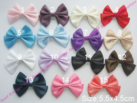 Butterfly Shaped Plain Satin Ribbon Double Bows Ribbon Bowknot DB071