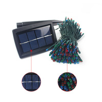 Solar Powered 400 LED String Fairy Lights Waterproof Outdoor Xmas Garden Home Decoration