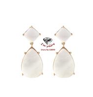ED2234 Accessories wholesale SUMNI texture of natural shells drop earrings 2pcs/lot