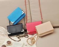 Candy color exquisite chain small messenger bag Women handbag