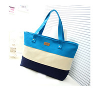 2014 Hot Sale Colorized Patchwork Canvas Women Messenger Bag Lady Shoulder Bag Fashion School Bag