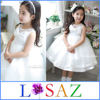 Best Selling White Party Princess Baby Girls Dress Kids Infant Girl Dresses Vestidos Infantis Baby Clothing