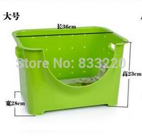 Japanese Style Plastic Fruit Storage Box Fruit And Vegetable Shelf Box Storage Basket Shelf Cooking Tools Kitchen Like A Bottle