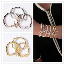 Fashion Women's Jewelry love cross bracelet
