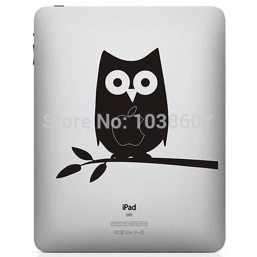 Film Decal Vinyl Sticker Skin Customization For iPad mini/086 Owl center(China (Mainland))