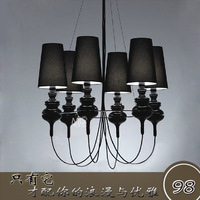 6 head The guard lamp Classic pendant light brief modern study light