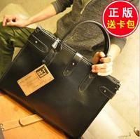 Commercial Man Bag Leather Vintage Personality Male Briefcase Handbag Messenger Bag Fashion Laptop Bag  CN0079