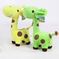 Kids Baby Plush Toy Stuffed Cute Plush Donkey Dot Colorful Doll Gift 18cm Drop shipping Stock