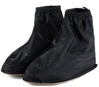 black men back zipple rain boots   shoes cover  waterproof shoe cover  rainboots rainshoes