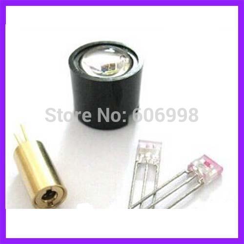 Laser Sensor Four Piece Suit Laser Head Modulation Tube Receiving Tube Lens