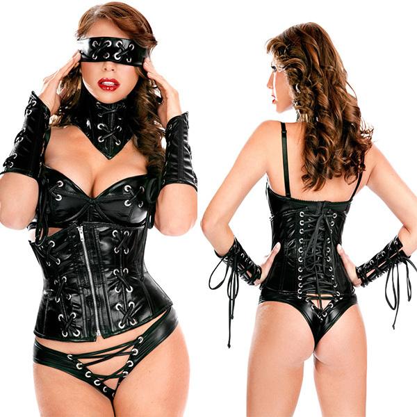 Collecting fetish gear leather man undergarments uniform wear
