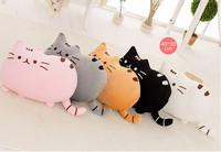 Novelty item soft plush stuffed animal doll,talking anime toy pusheen cat for girl kid;kawaii,cute cushion brinquedos, birthday