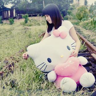 Hellokitty kt cat pillow child cloth doll HELLO KITTY plus