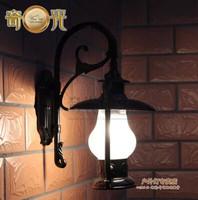 10W LED 110V/220V Outdoor wall lights waterproof vintage kerosene lamp aluminum die casting outdoor led wall sconce